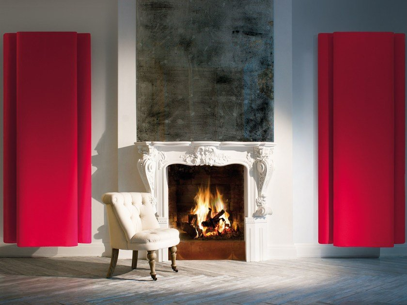Decorative acoustic panel BEMOLLE by Caimi Brevetti
