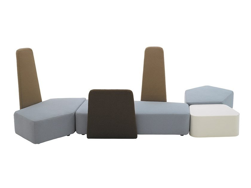 Sofá secional modular BEN GRIMM by Casamania & Horm