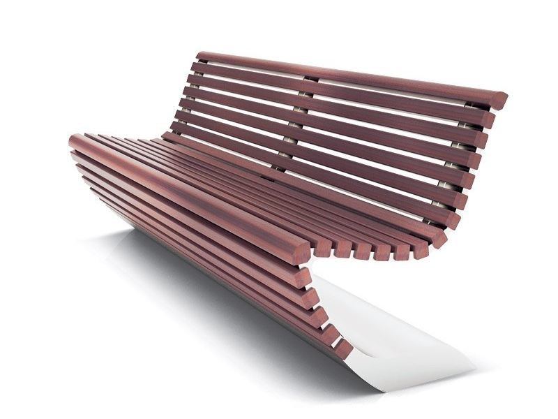 Solid wood Bench BENCH by LAB23