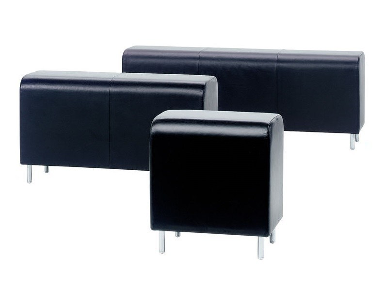 Leather bench BENCH by Vitra