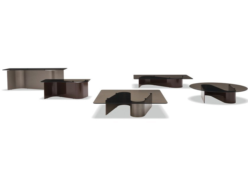 Coffee table BENDER by Minotti