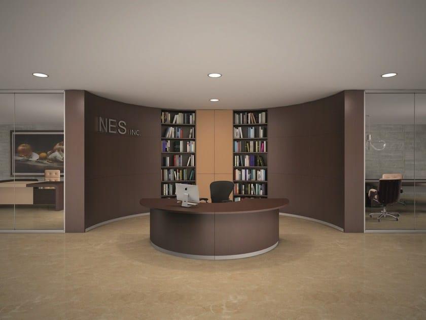 Bengentile banco reception per ufficio collezione for Reception per ufficio