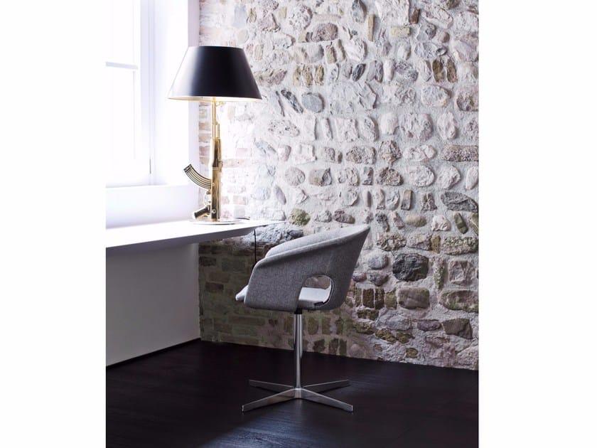 Swivel reception chair BENNETT | Swivel chair by La Cividina
