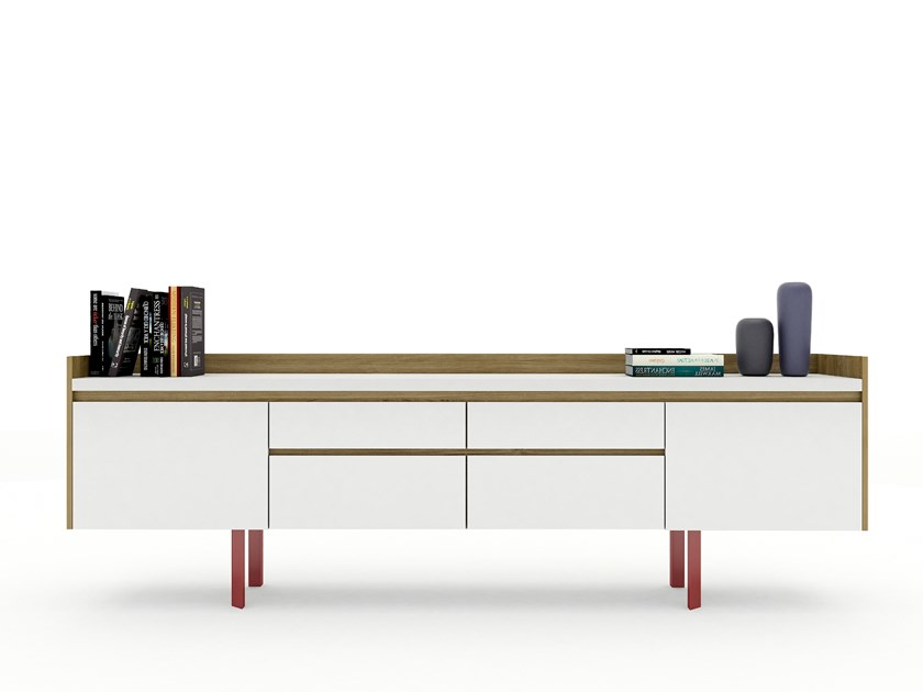 Lacquered sideboard BENSEN by Tuna Ofis