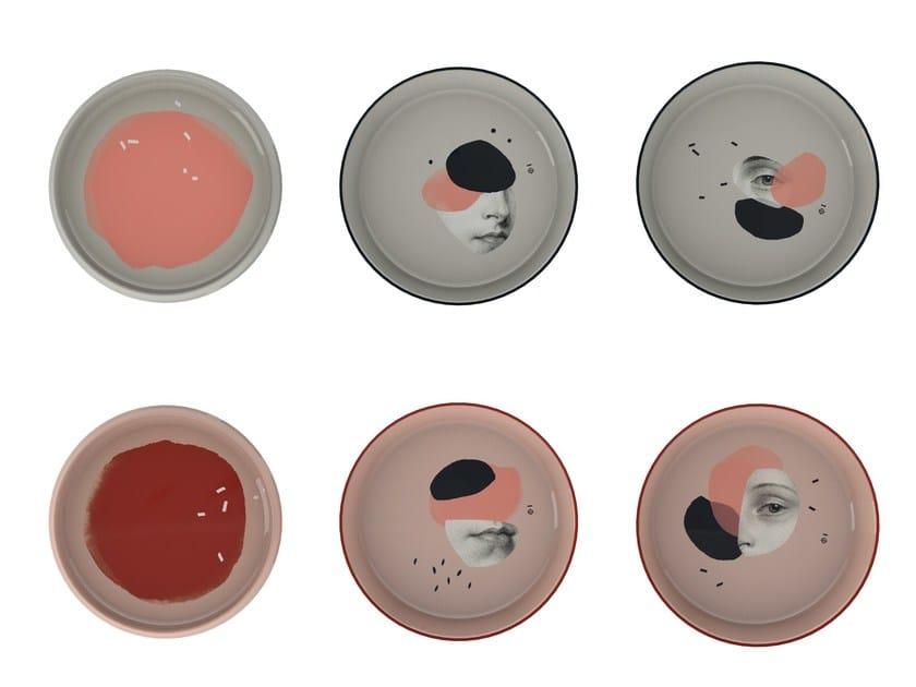 Melamine plates set BENTO by IBRIDE