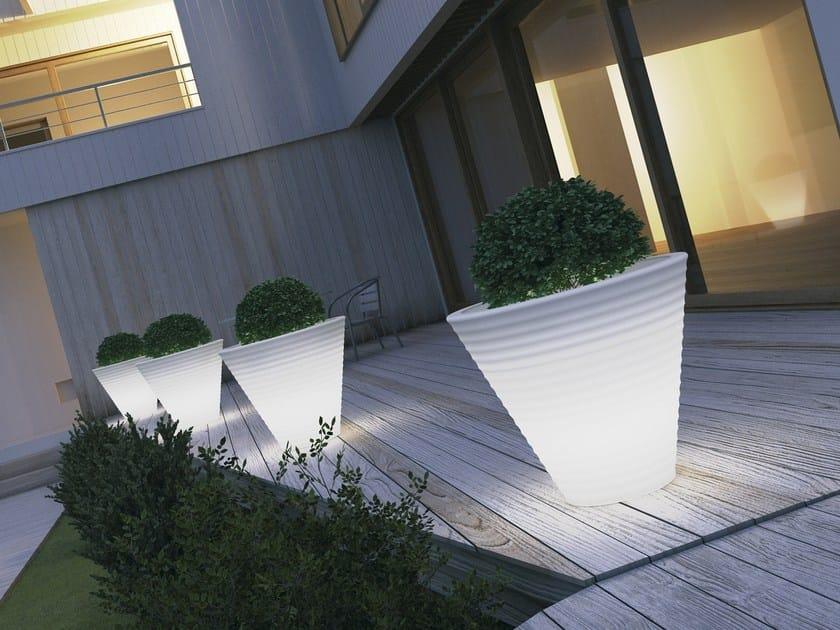 Vaso da giardino luminoso BENVOLIO by MOBIKA GARDEN