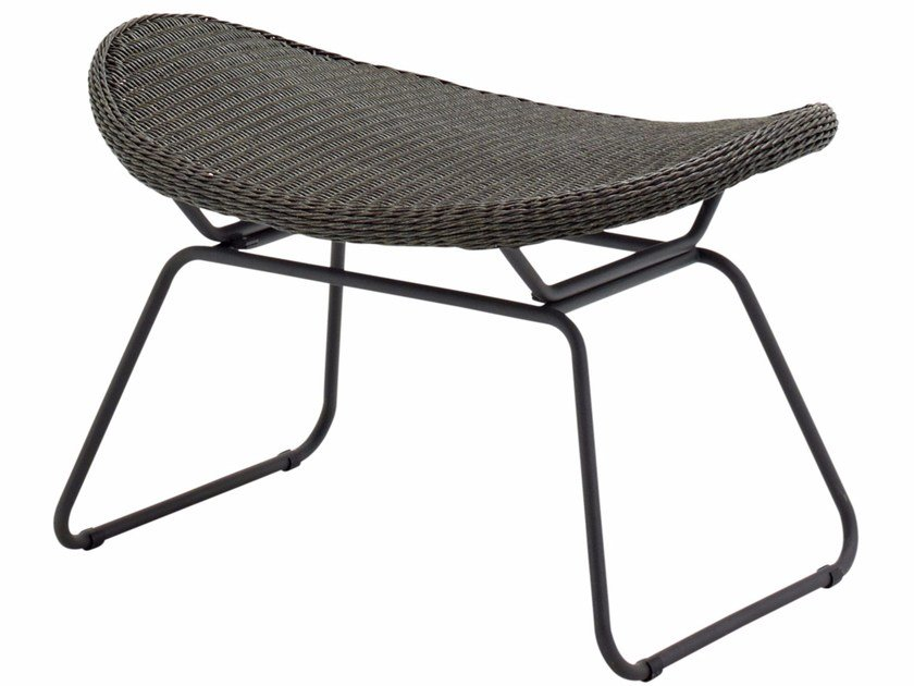 Sled base footstool BEPAL   Footstool by Gloster