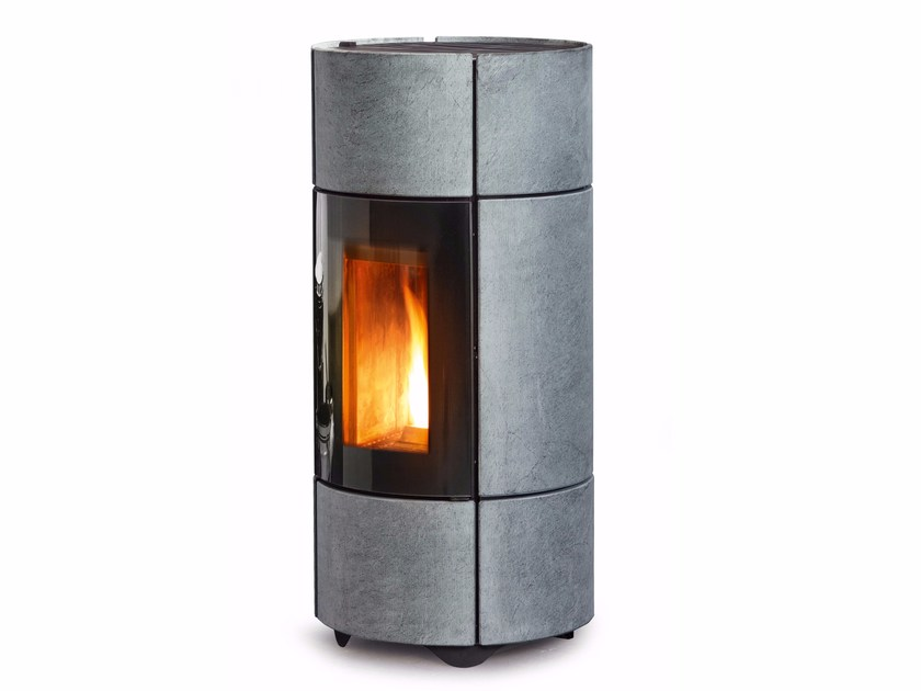Pellet Central natural stone stove BERG by MCZ GROUP