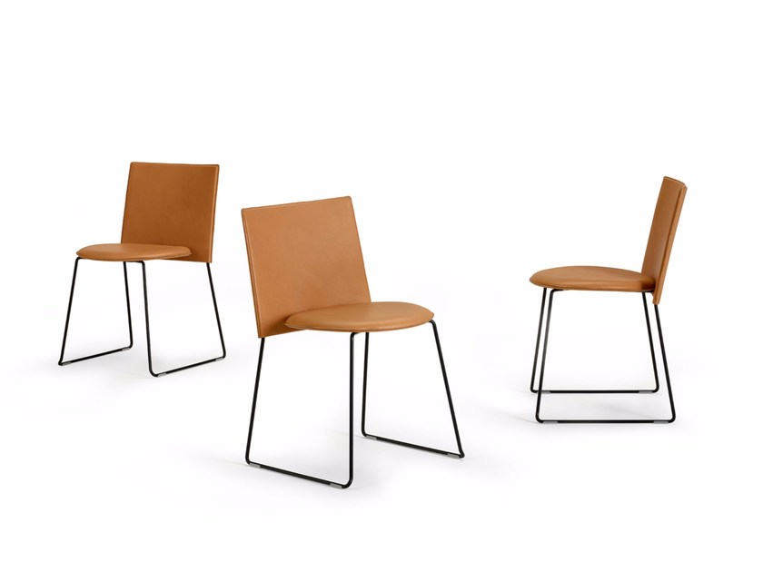 Chair with sledge base BERGEN by Offecct
