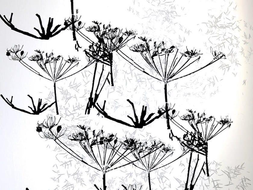 Screenprinted wallpaper BERLIN IN WINTER | Wallpaper by Birgit Morgenstern Studios