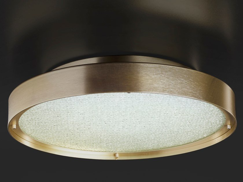 LED direct light metal ceiling lamp BERLIN | Ceiling lamp by Oluce