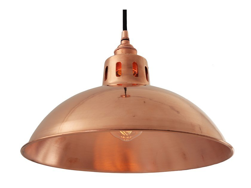Handmade Metal Pendant Lamp BERLIN VINTAGE COPPER PENDANT LIGHT By Mullan  Lighting