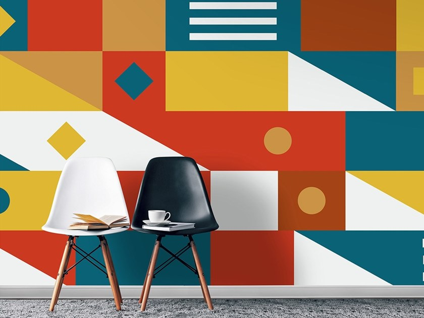 Industrial and modern wallpaper, PVC free, eco, washable BERLINO by Wallpepper