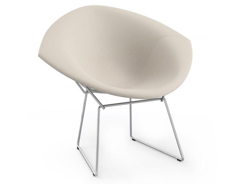 BERTOIA DIAMOND   Petit fauteuil rembourré By KNOLL design