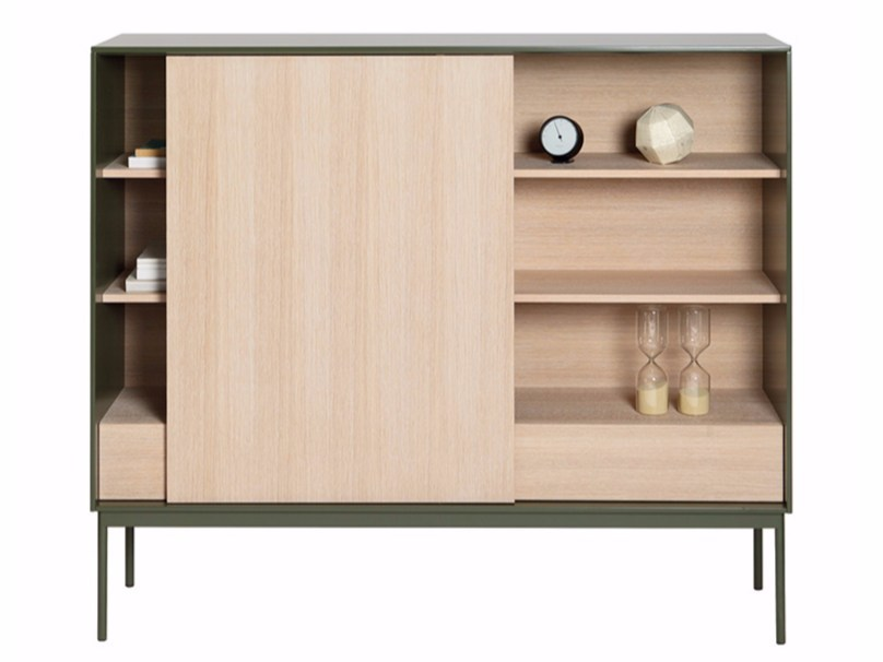 Freestanding bookcase BESSON B160 D by ASPLUND