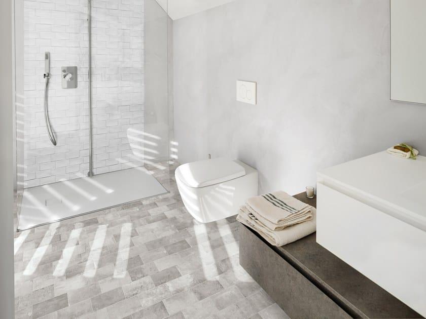Porcelain stoneware flooring BETONBRICK FLOOR by Terratinta Ceramiche