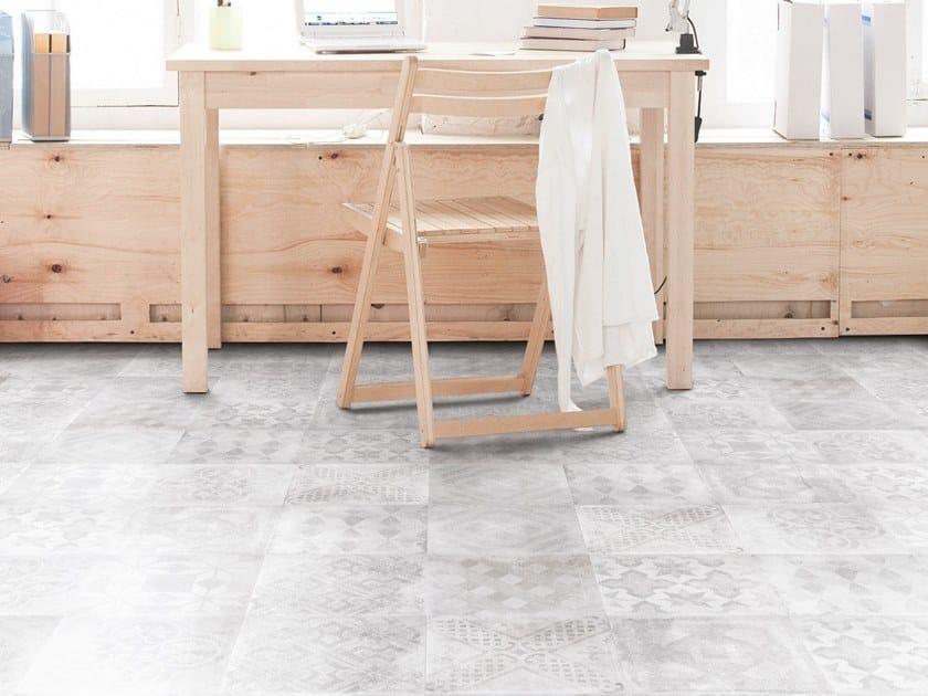 Pavimento rivestimento in gres porcellanato effetto cementine