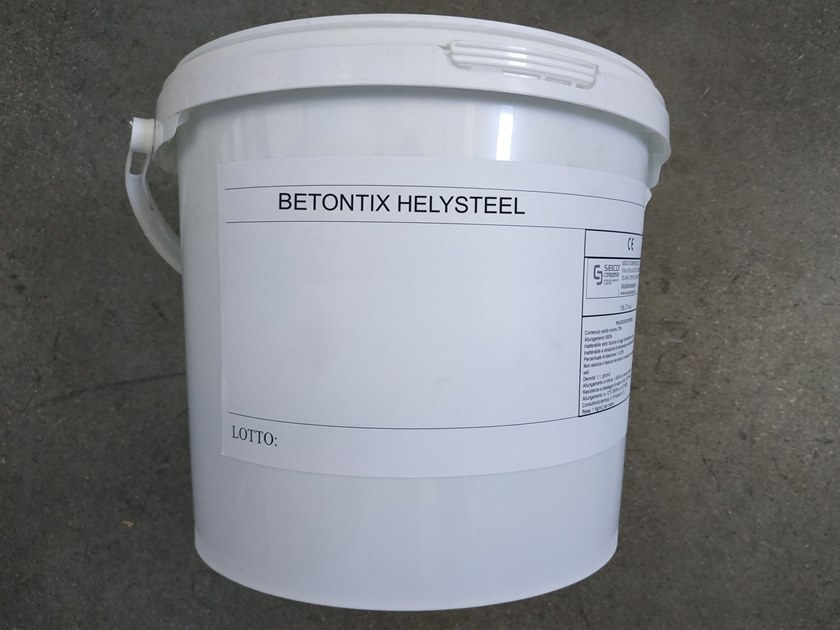 Mortar and grout for renovation BETONTIX HELYSTEEL by Seico Compositi
