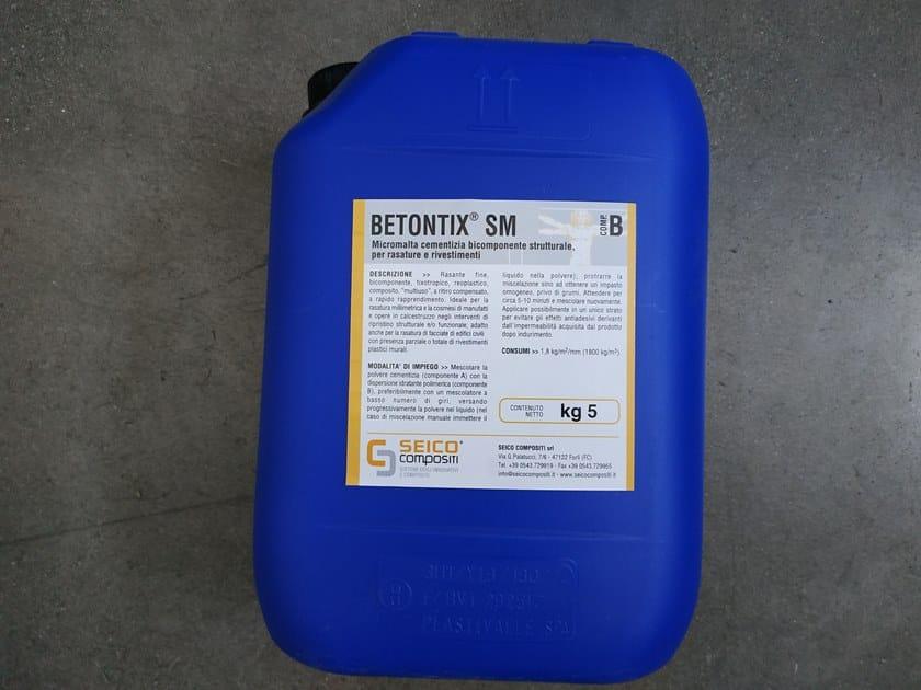 Smoothing compound BETONTIX SM by Seico Compositi