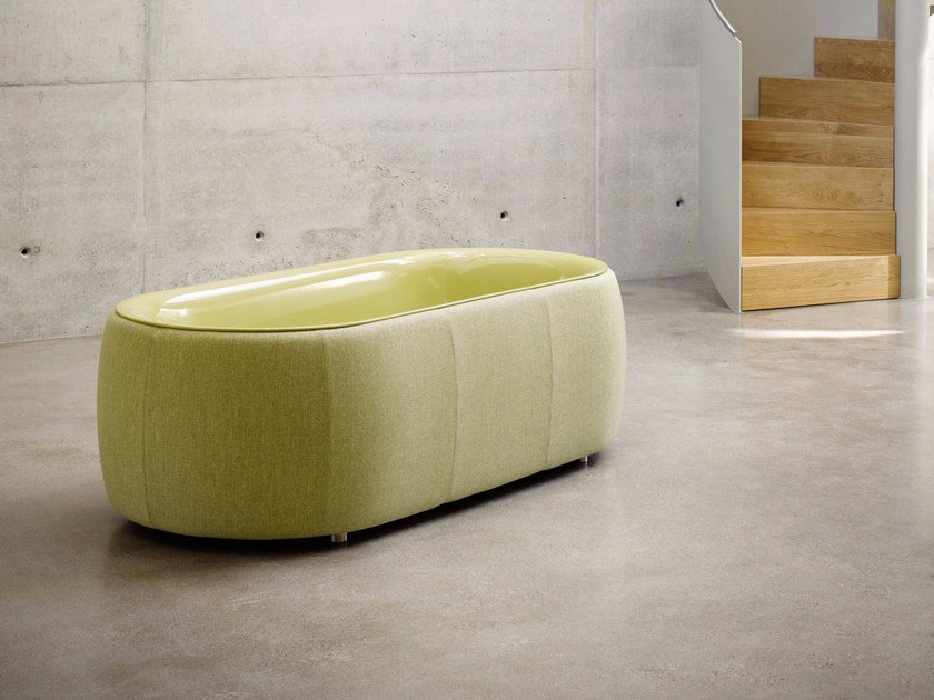 Vasca Da Bagno Bette : Bettelux oval couture vasca da bagno by bette design tesseraux