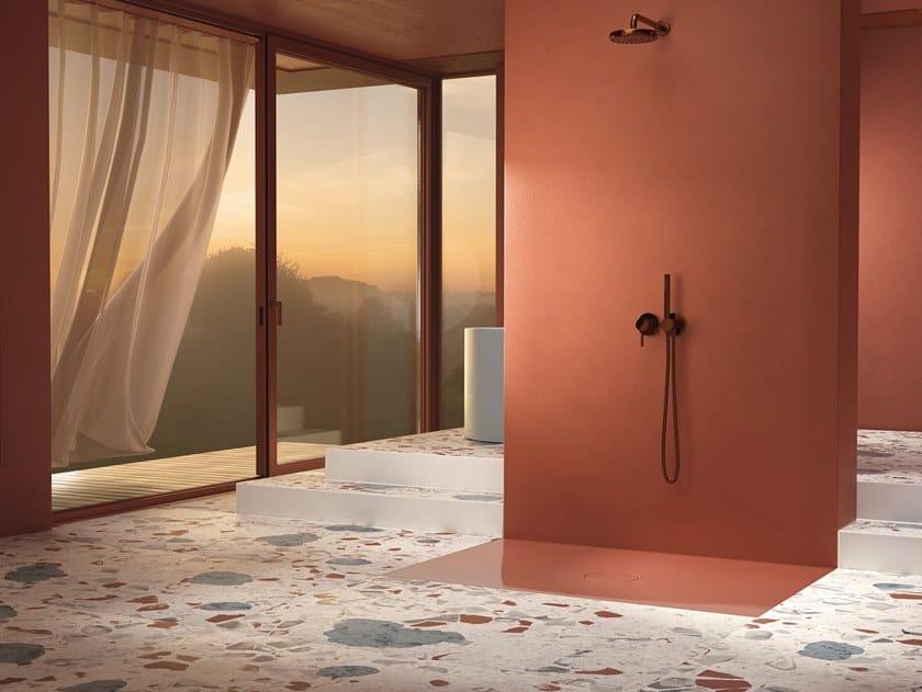 Piatto doccia filo pavimento in acciaio vetrificato BETTEAIR by Bette