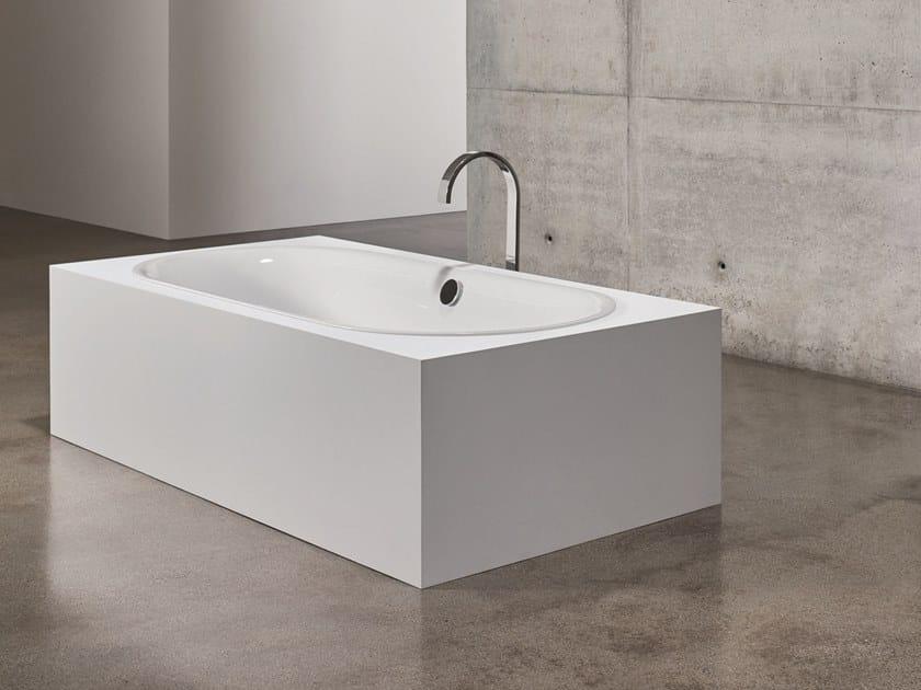 Oval built-in bathtub BETTELUX OVAL by Bette