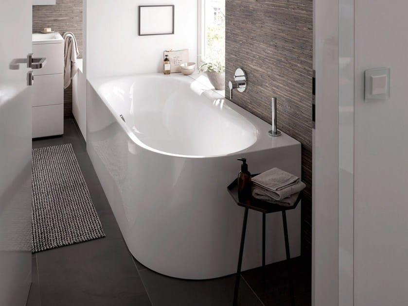 Vasca Da Bagno Acciaio Prezzi : Vasca da bagno in acciaio smaltato bettelux oval iv silhouette by