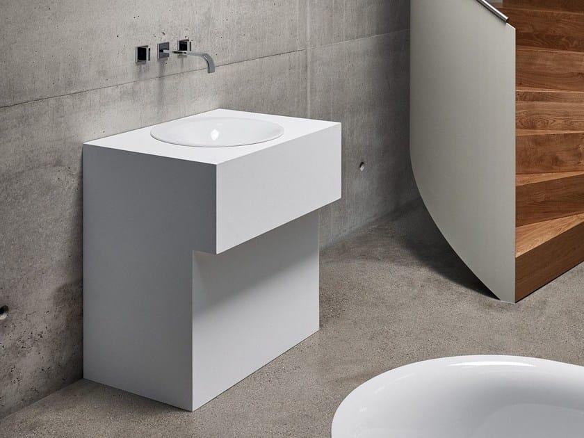 Inset round enamelled steel washbasin BETTELUX OVAL | Washbasin by Bette