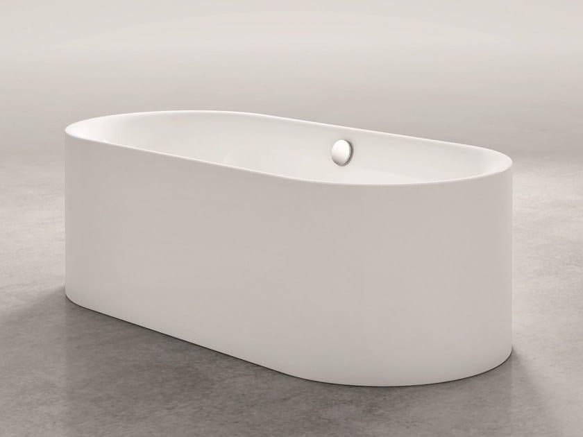 Freestanding oval bathtub BETTELUX OVAL SILHOUETTE by Bette