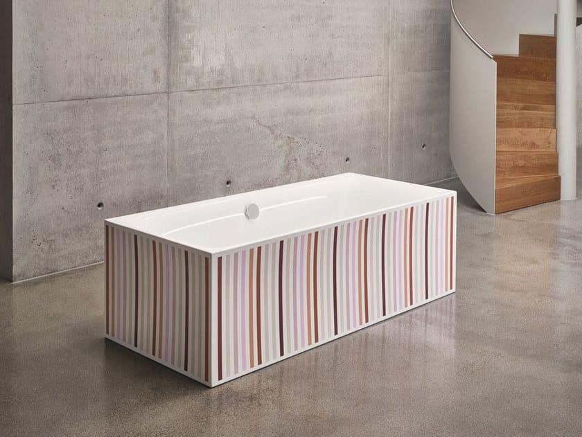 Vasche Da Bagno Bette Prezzi : Vasca da bagno rettangolare in acciaio smaltato bettelux silhouette