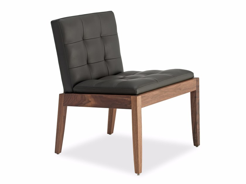 Leather easy chair BEVER | Leather easy chair by Riva 1920
