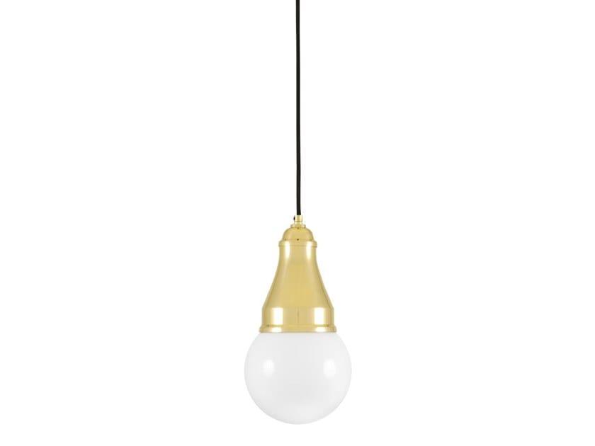 Lampada a sospensione in ottone BEVERLY | Lampada a sospensione by Mullan Lighting