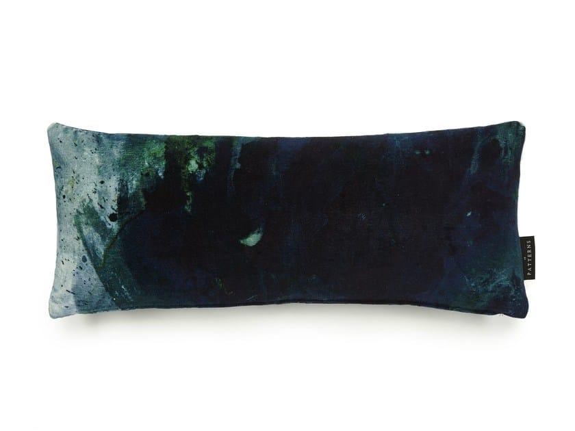 Rectangular cotton cushion BEYOND NEBULOUS | Rectangular cushion by 17 patterns
