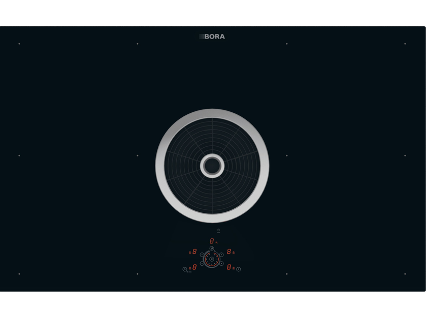 Surface induction glass ceramic  cooktop BFIU by BORA