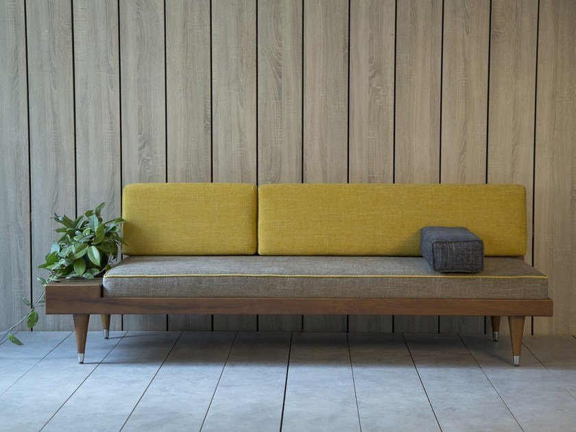 Wooden small sofa BI BACK | Small sofa by Kann Design