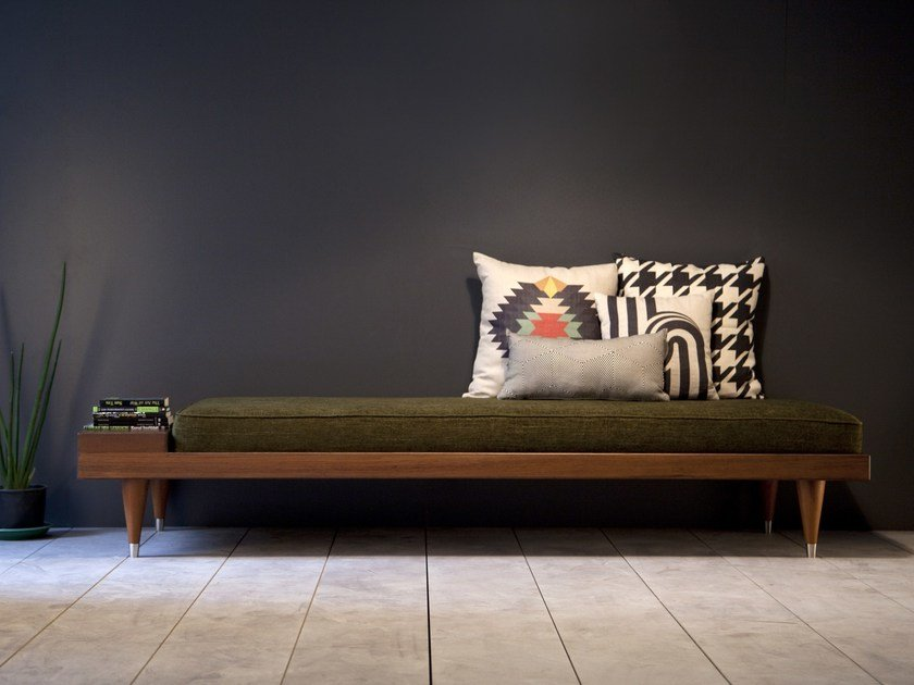 Fabric day bed BI DAYBED by Kann Design