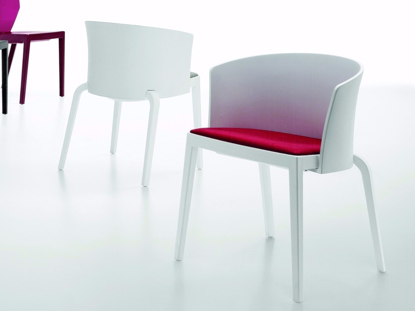 Chair with armrests BI FULL-BACK by Infiniti