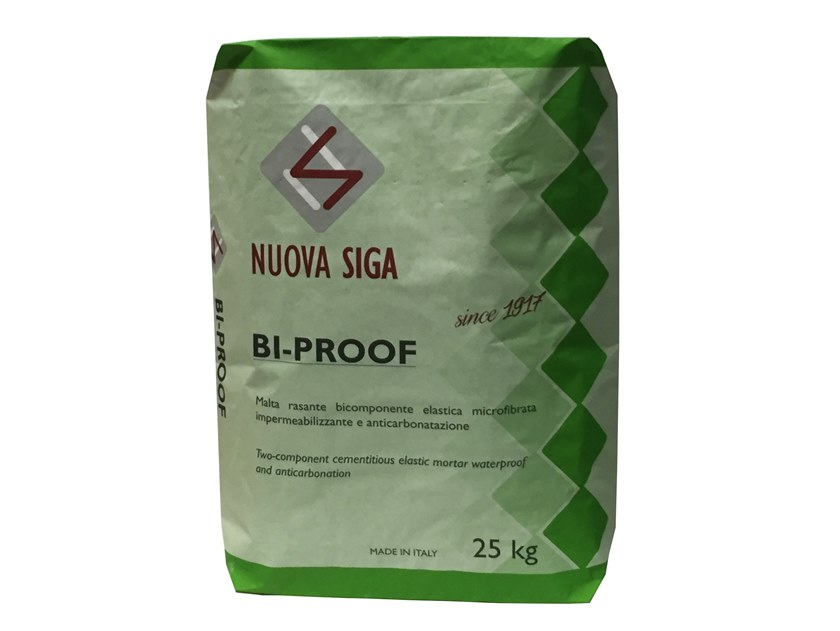 Cement-based waterproofing coating BI-PROOF by NUOVA SIGA