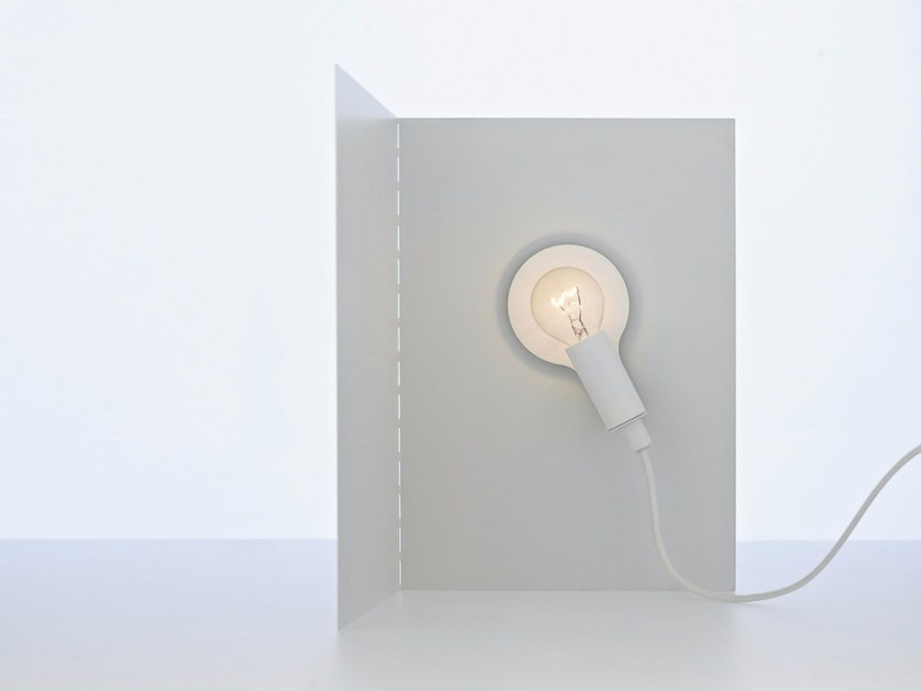 Halogen metal table lamp with dimmer BIANCA by DAVIDE GROPPI