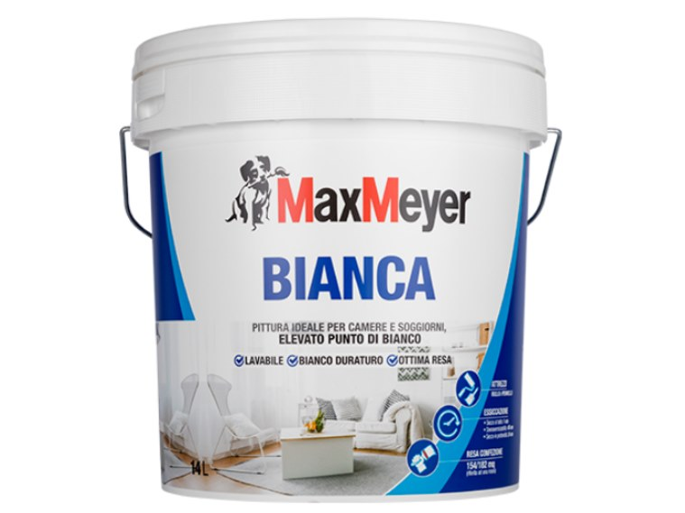 Washable water-based paint BIANCA by MaxMeyer