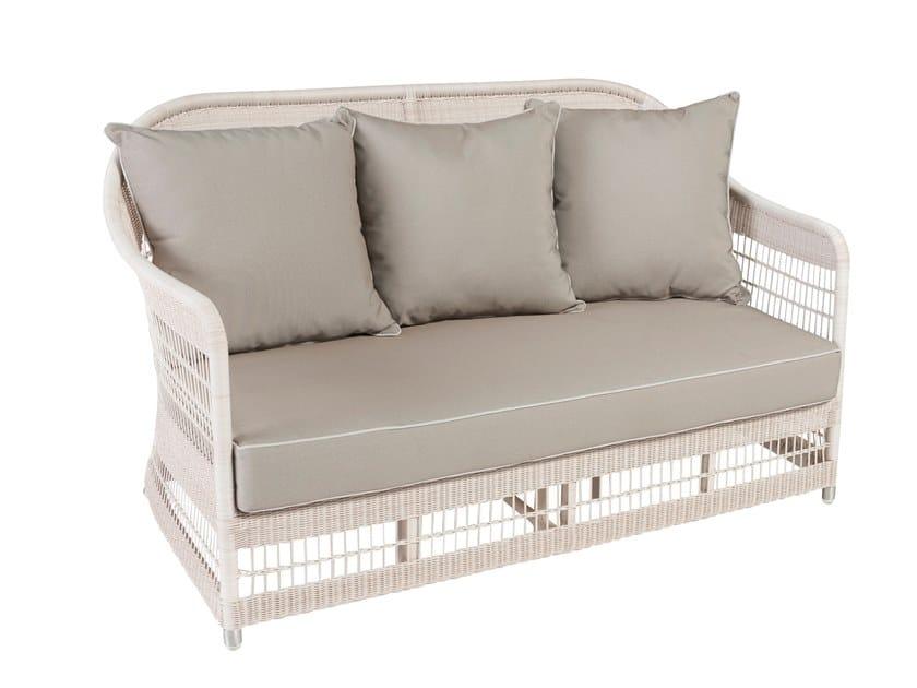 2 seater garden sofa BIARRITZ | 2 seater garden sofa by Kok Maison