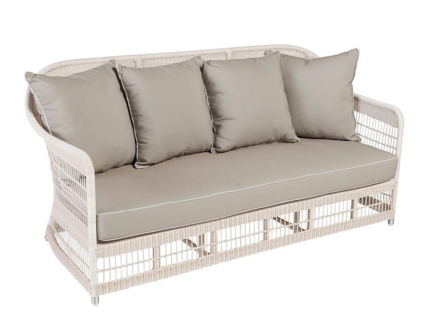 3 seater garden sofa BIARRITZ | 3 seater garden sofa by Kok Maison