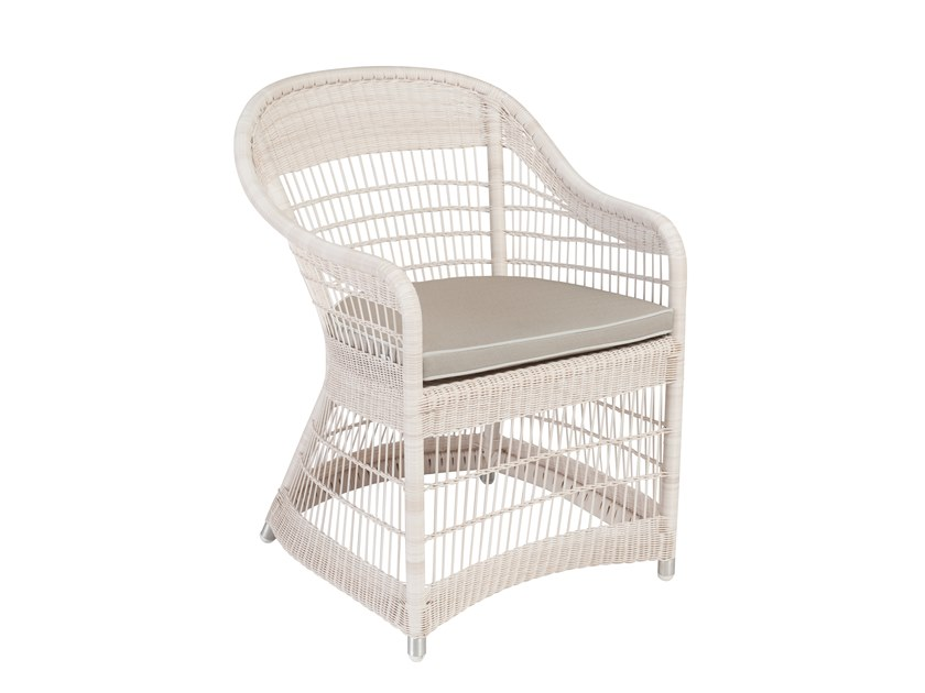 Garden chair with armrests BIARRITZ   Chair with armrests by Kok Maison