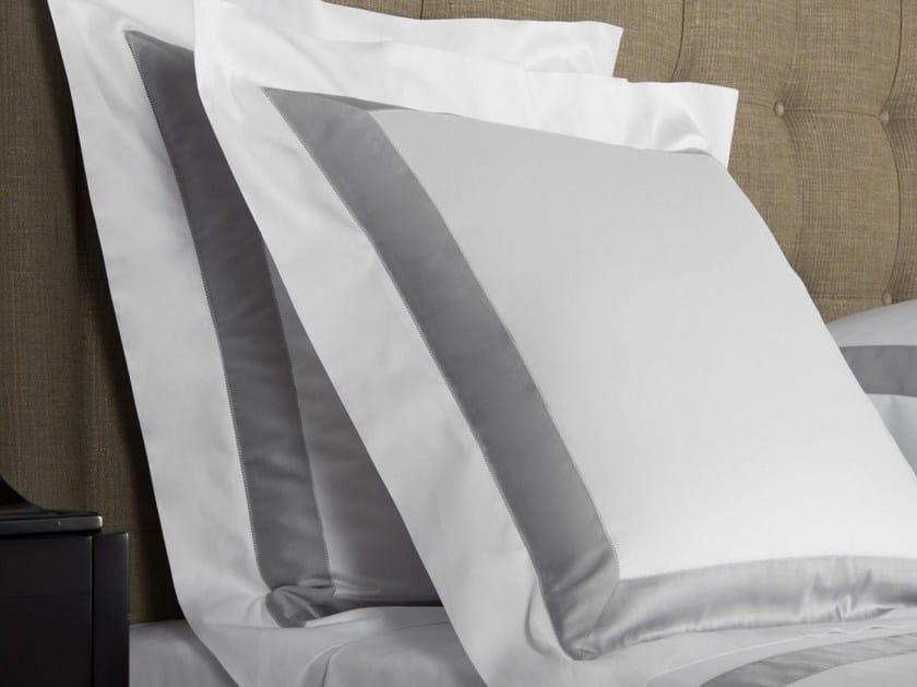 Cotton pillow case BICOLORE | Cotton pillow case by Frette