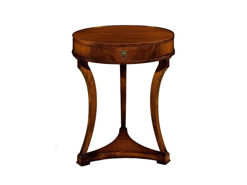 Round wooden coffee table BIEDERMEIER | Coffee table by Morelato