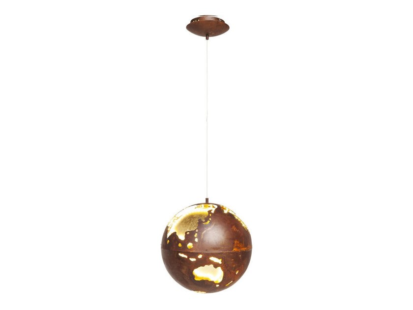 LED powder coated steel pendant lamp BIG BANG LED | Pendant lamp by KARE-DESIGN