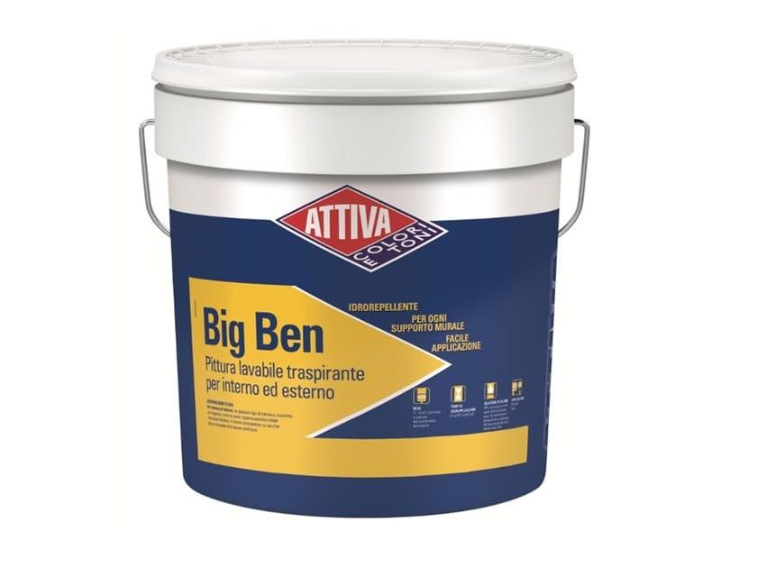 Idropittura Lavabile Traspirante Big Ben Attiva