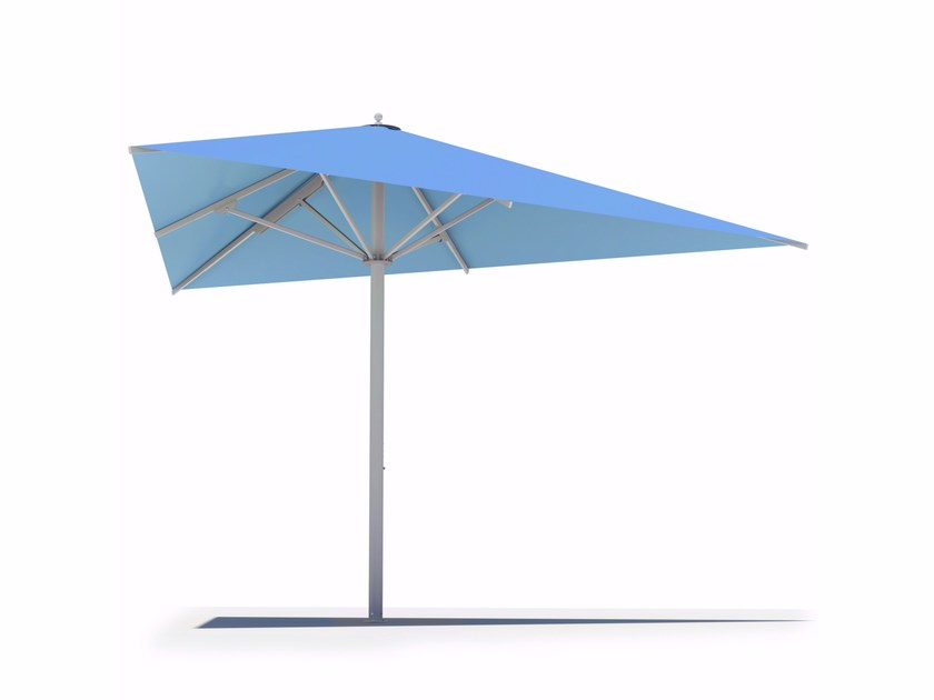 Triangular Garden umbrella BIG BEN | Triangular Garden umbrella by Caravita