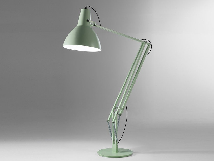LED direct light adjustable thermo lacquered aluminium floor lamp BIG by Exporlux