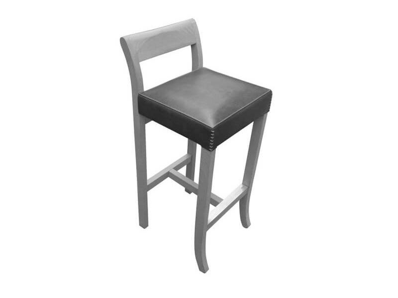 High solid wood stool BIG JIM by ESTEL GROUP